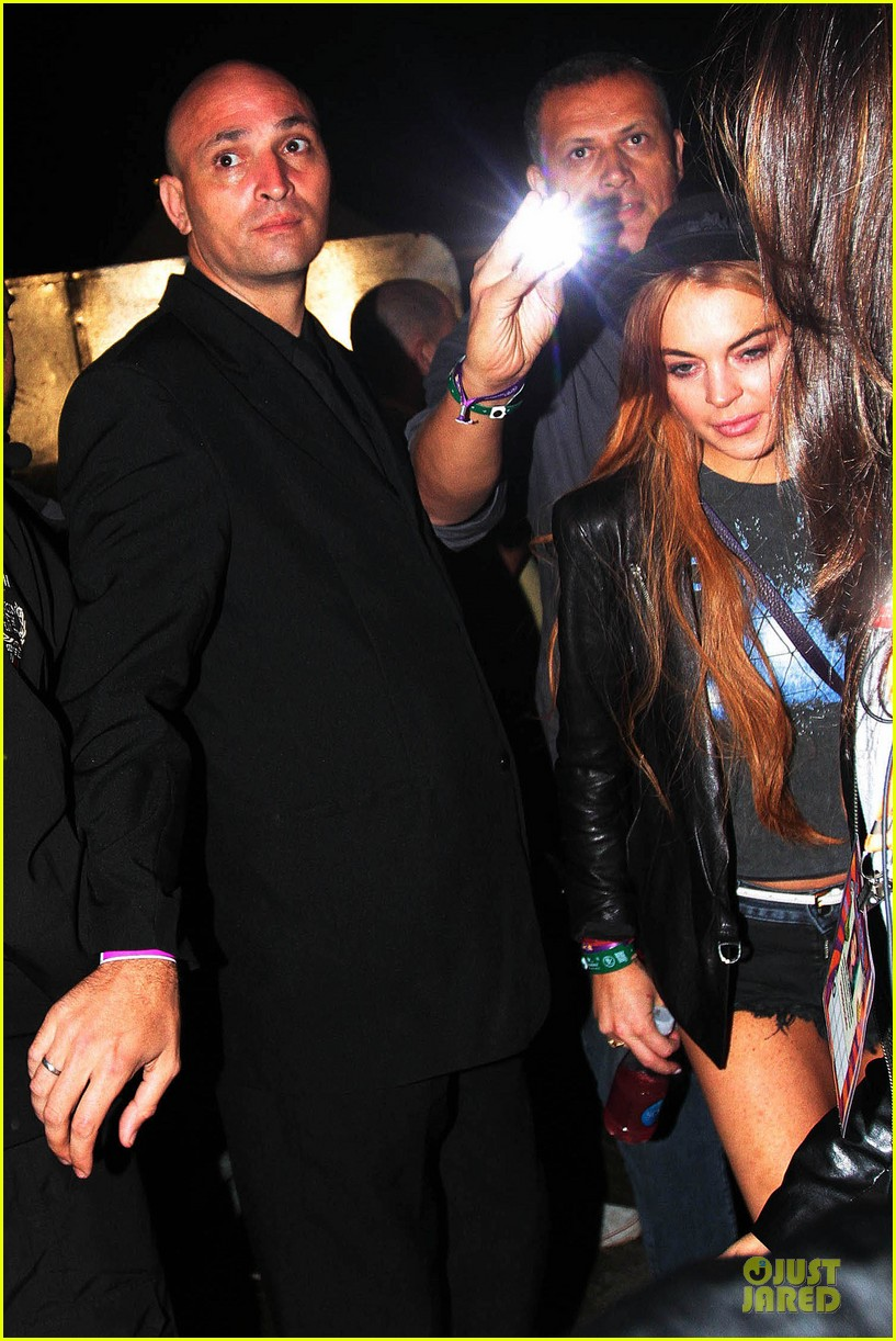 lindsay lohan late show with david letteraman in april 08