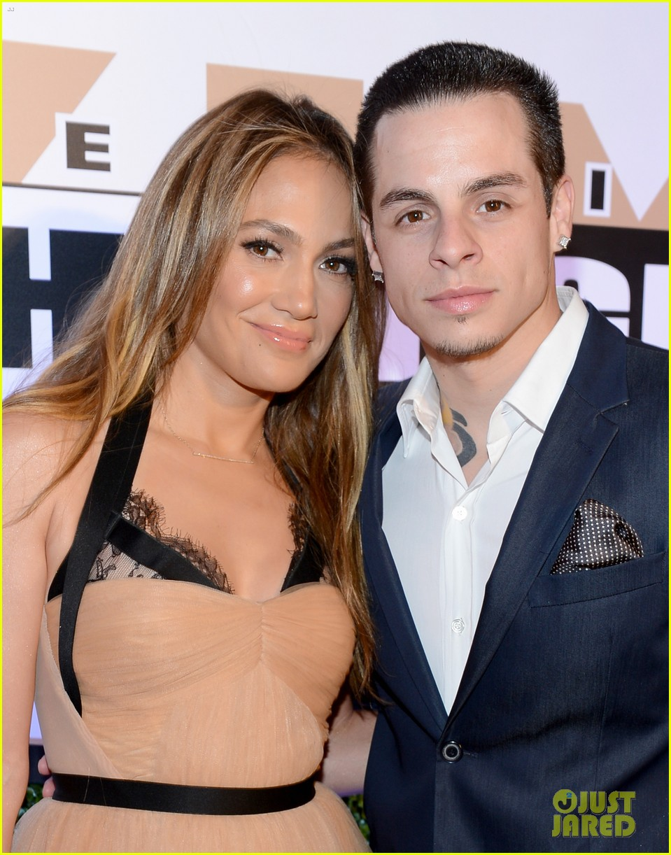 jennifer lopez celebrity fight night with casper smart 022836605