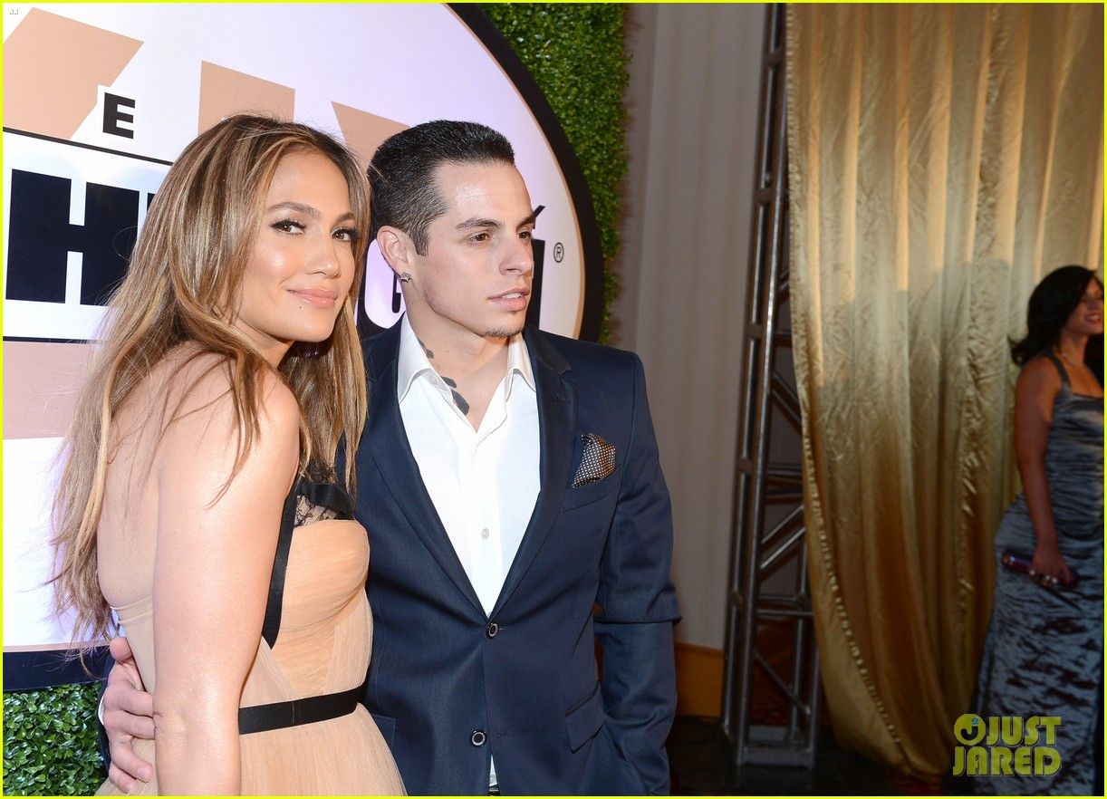 jennifer lopez celebrity fight night with casper smart 102836613