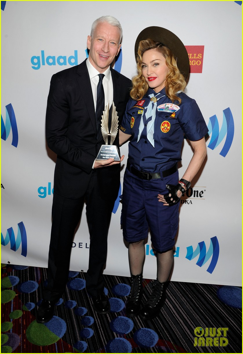 madonna boy scout costume at glaad media awards 2013 05