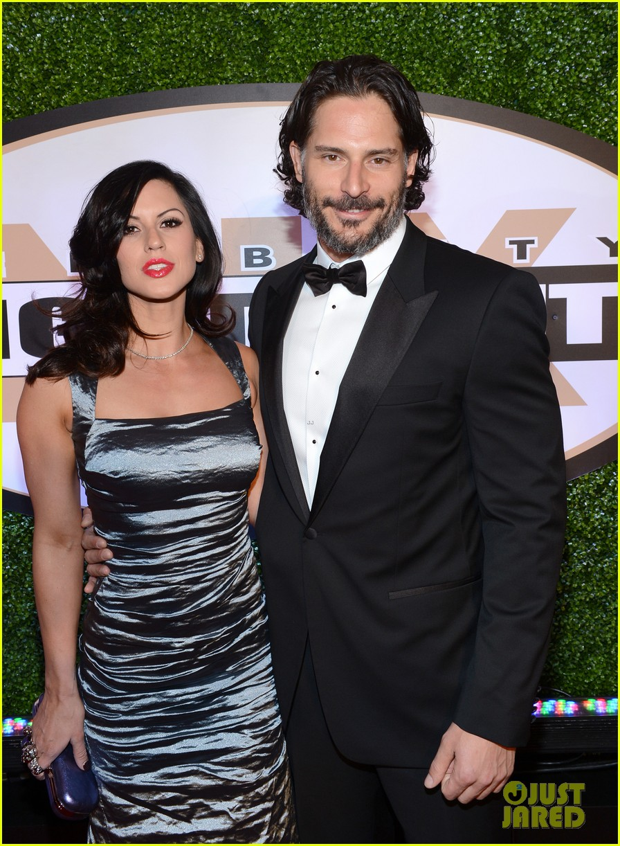 joe manganiello celebrity fight night with bridget peters 212836707