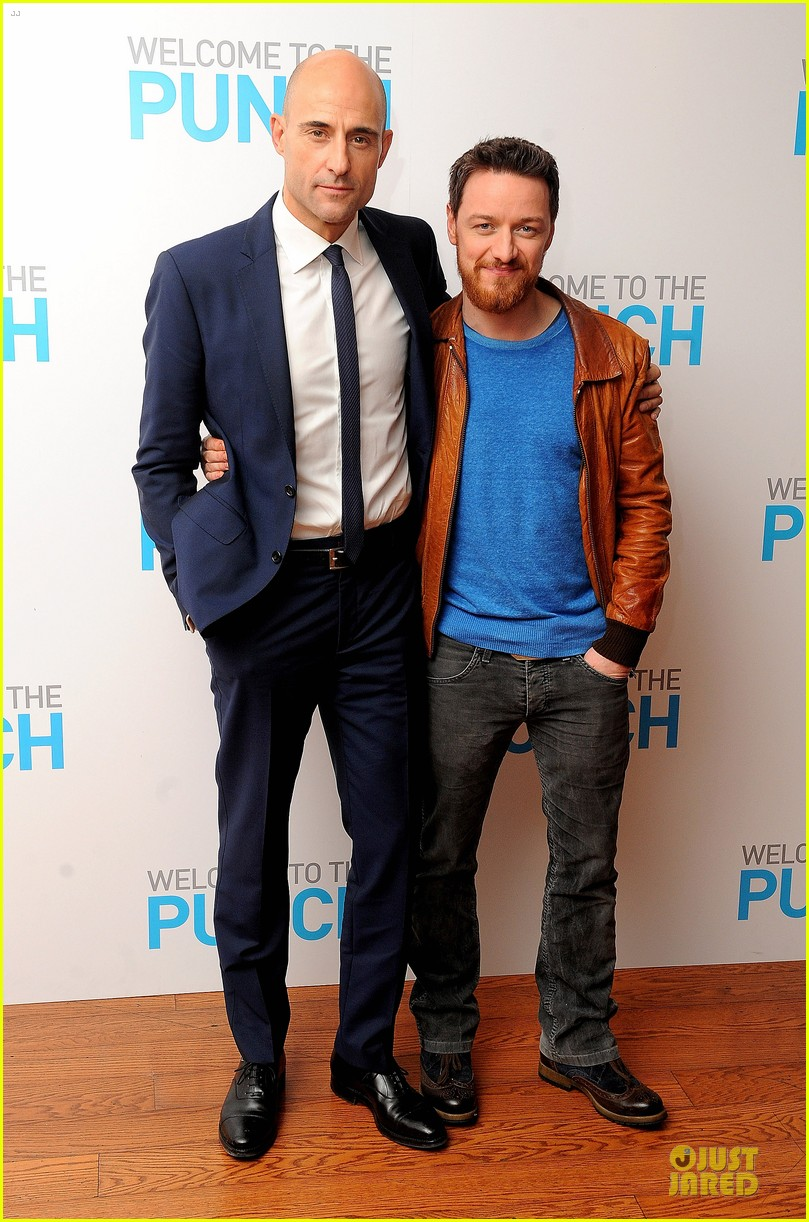 james mcavoy mark strong welcome to the punch london premiere 012825589