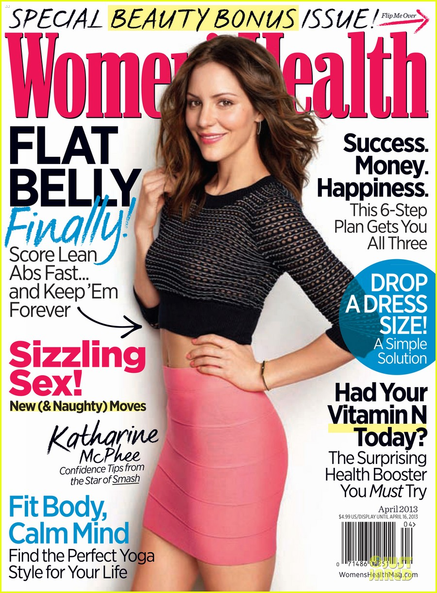 Katharine mcphee covers women s health april 2012