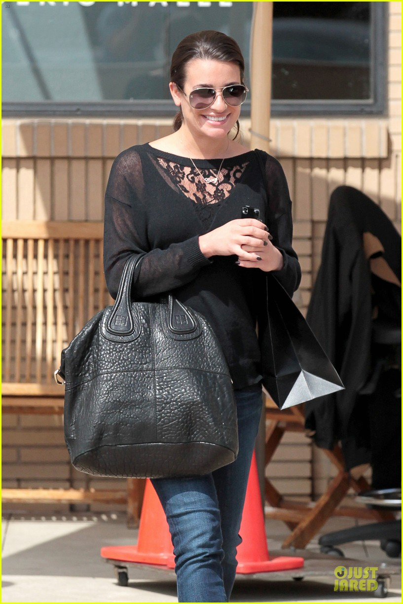 lea michele cory monteith necklace wearing gal 09