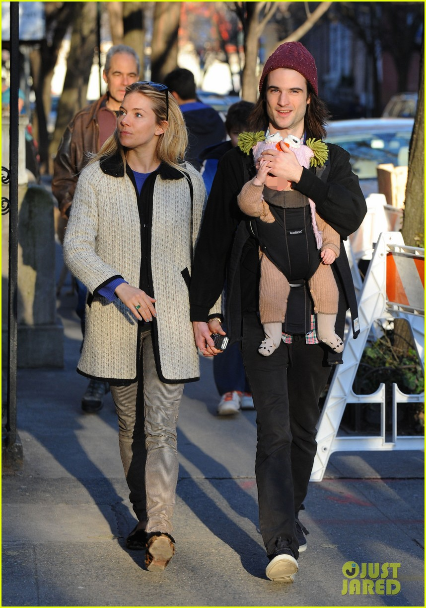sienna miller tom sturridge west village walk with marlowe 112828357
