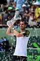 andy murray shirtless victory swim after sony open win 09