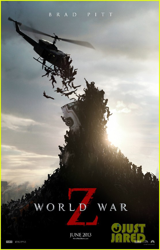 brad pitt world war z poster 01