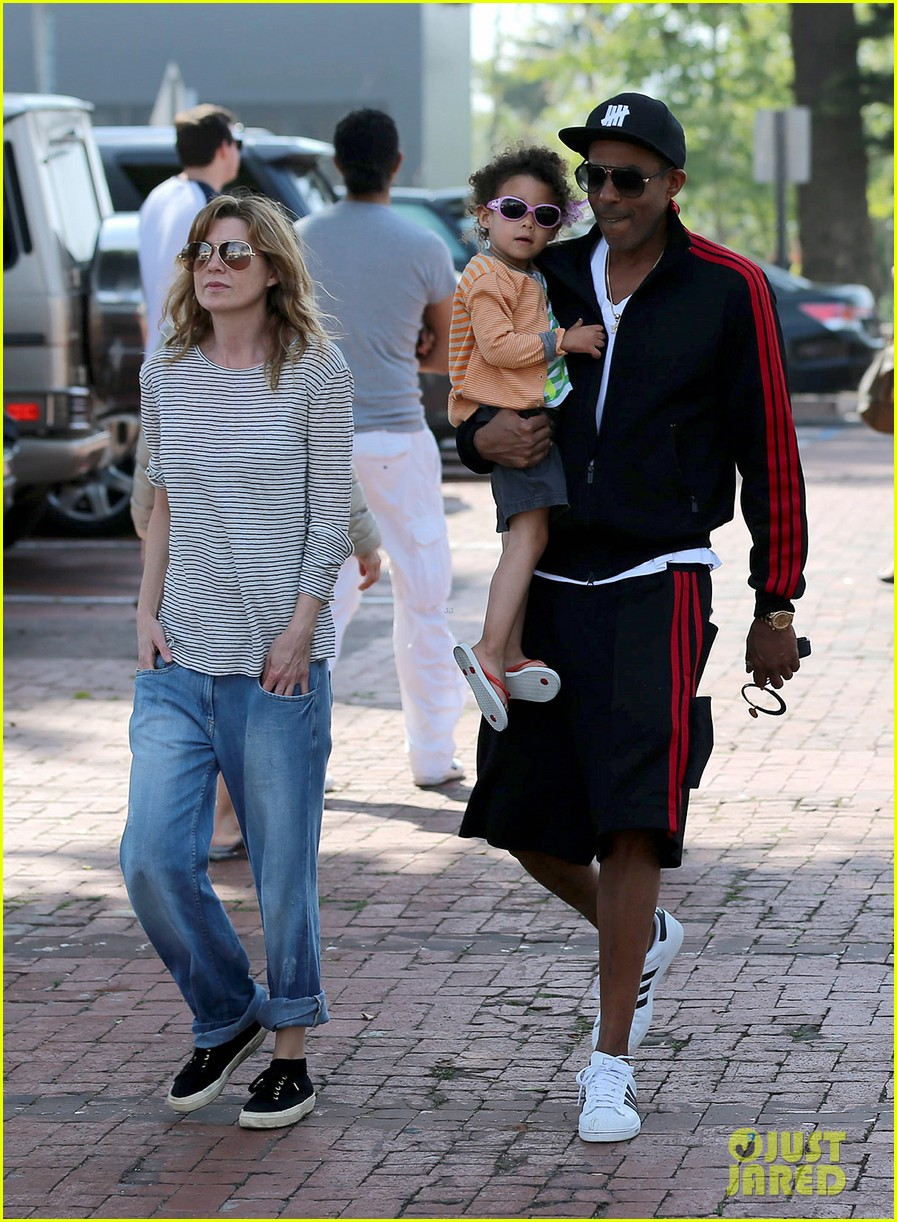 ellen pompeo monkeybars with stella 142837440