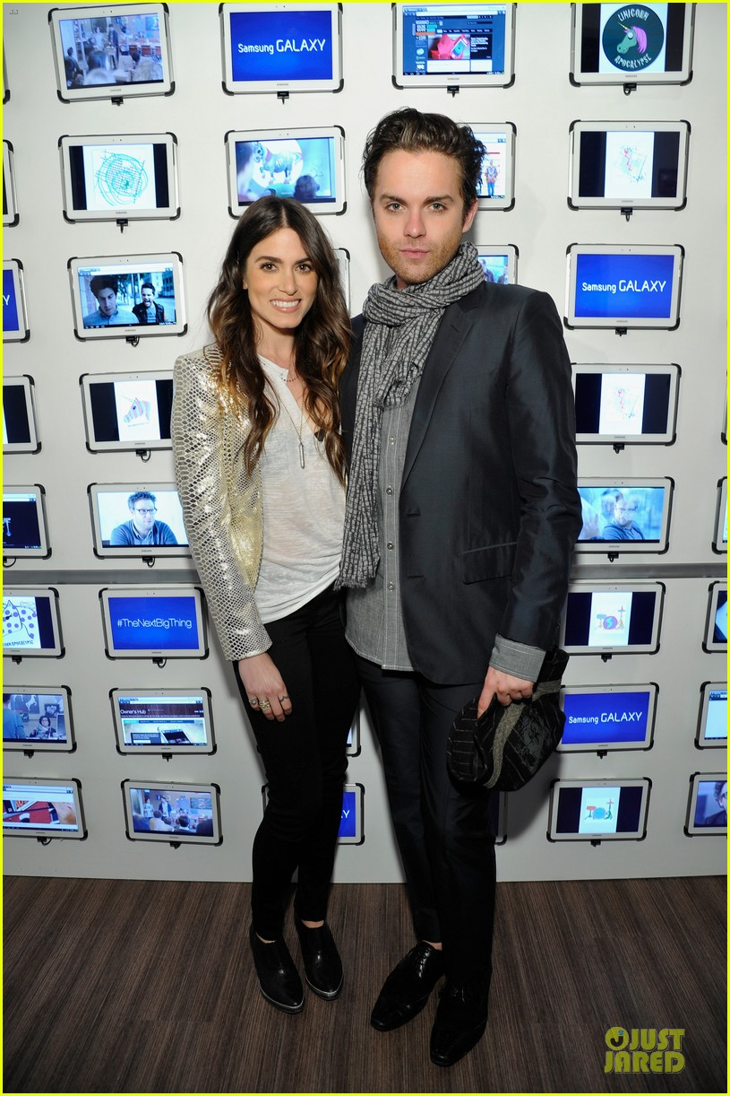 nikki reed thomas dekker snap dinner at sxsw 03