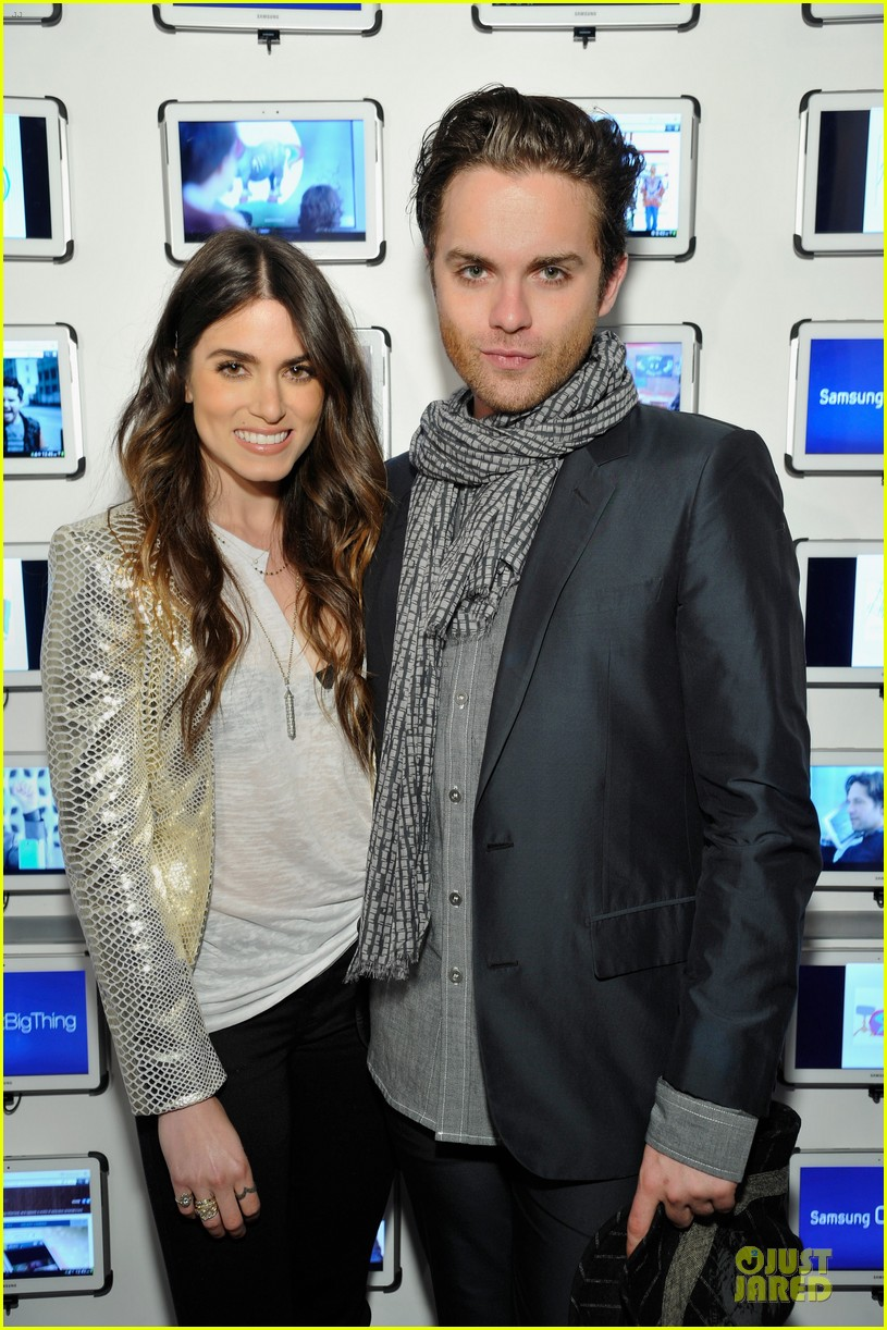 nikki reed thomas dekker snap dinner at sxsw 12