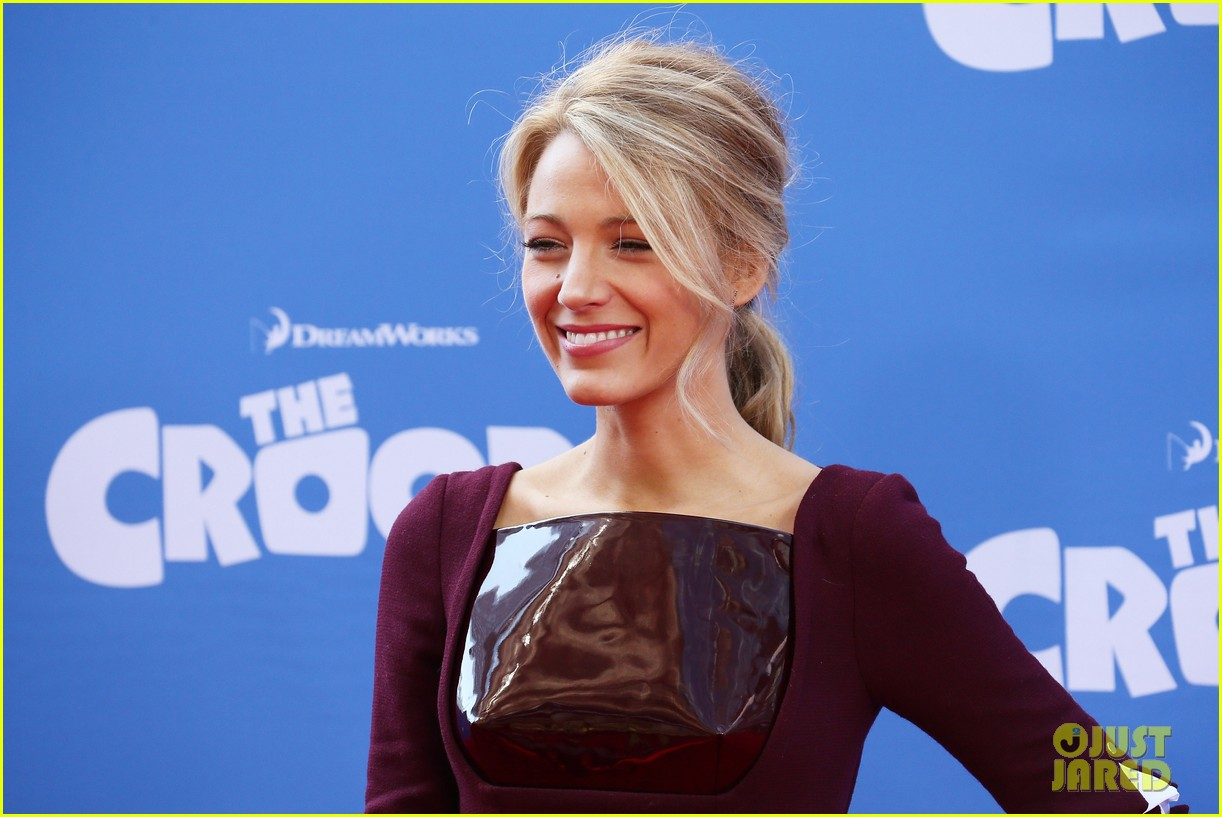blake lively ryan reynolds croods new york premiere 02