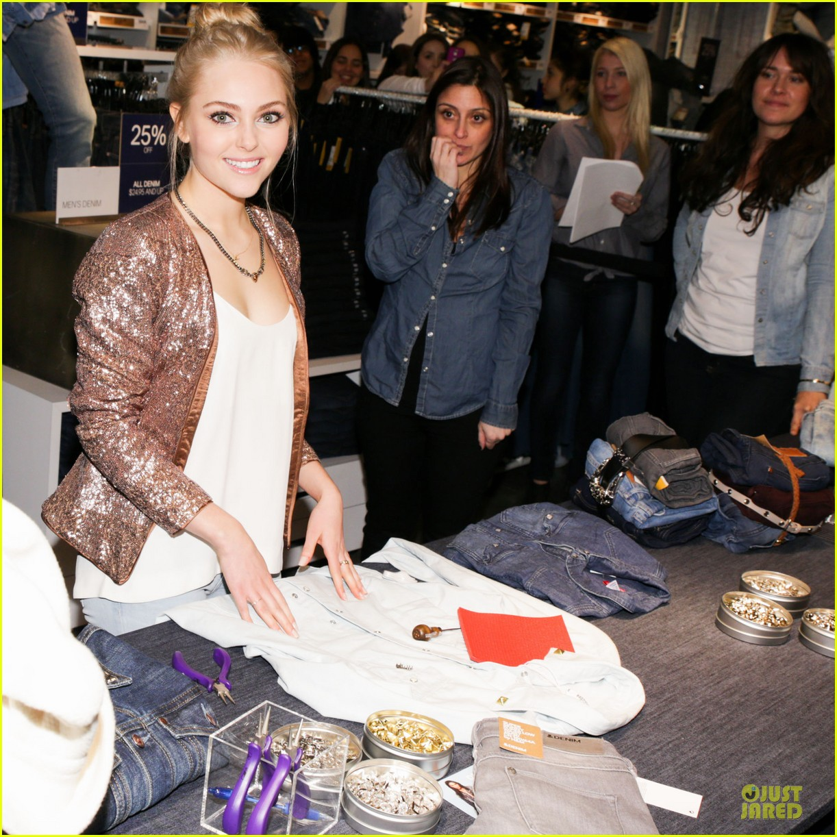 annasophia robb denim days celebration 122823757