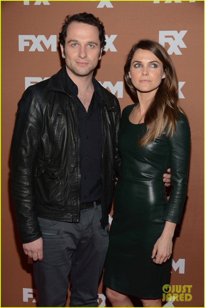 keri russell charlie hunnam fx upfront bowling event 18
