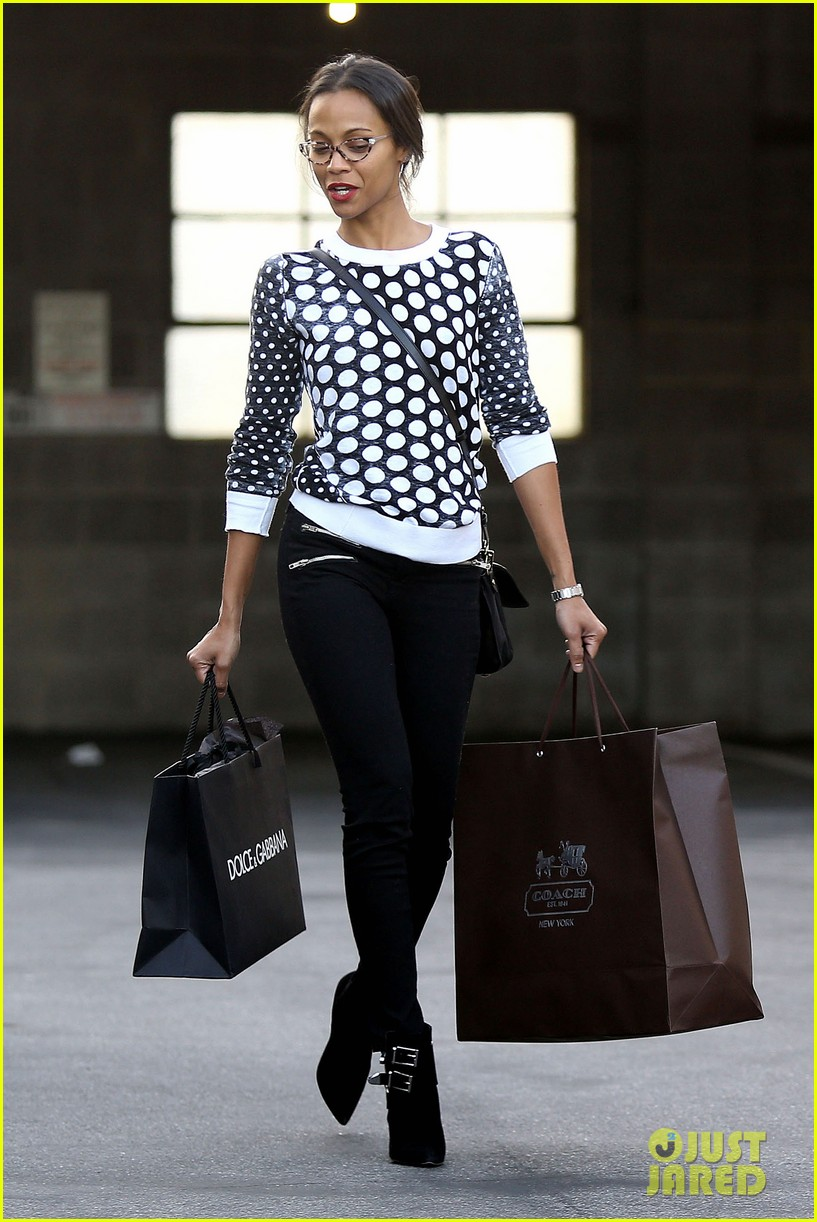 zoe saldana petry flannery studio stop 12