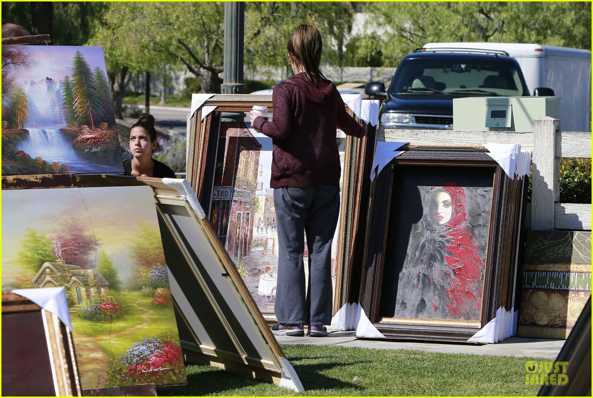 britney spears painting shopping gal 102827956