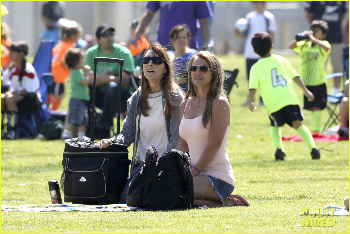 britney spears proud soccer mom 12