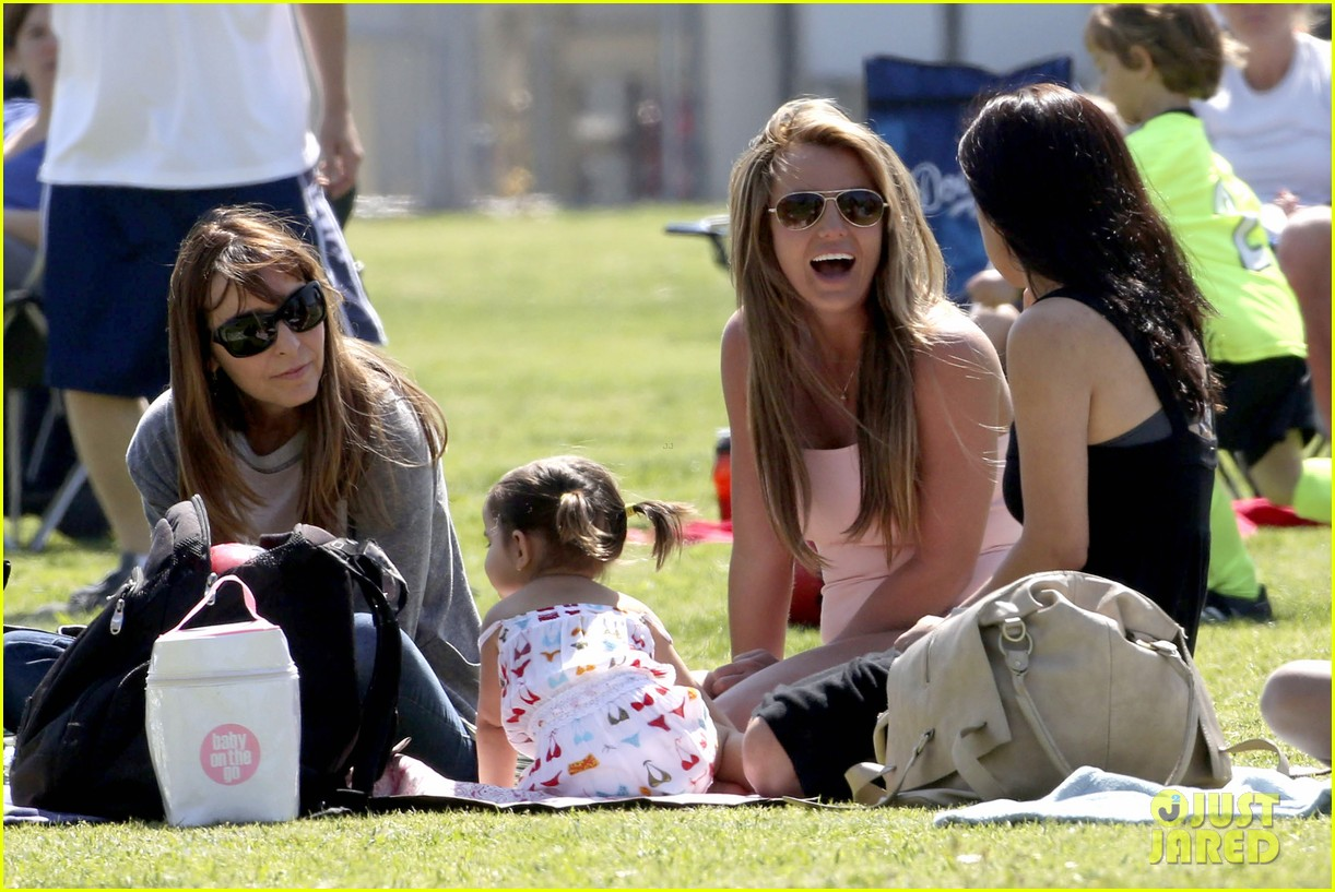 britney spears proud soccer mom 162832405