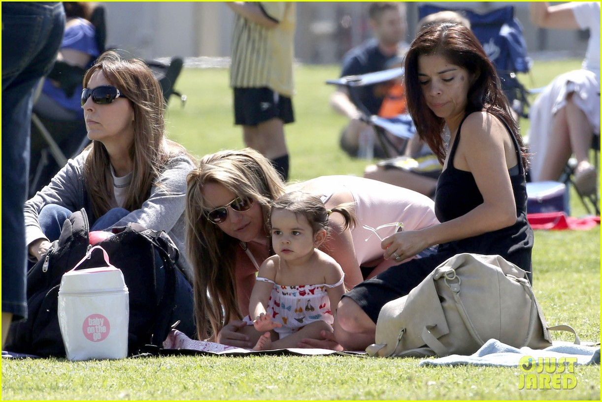 britney spears proud soccer mom 28