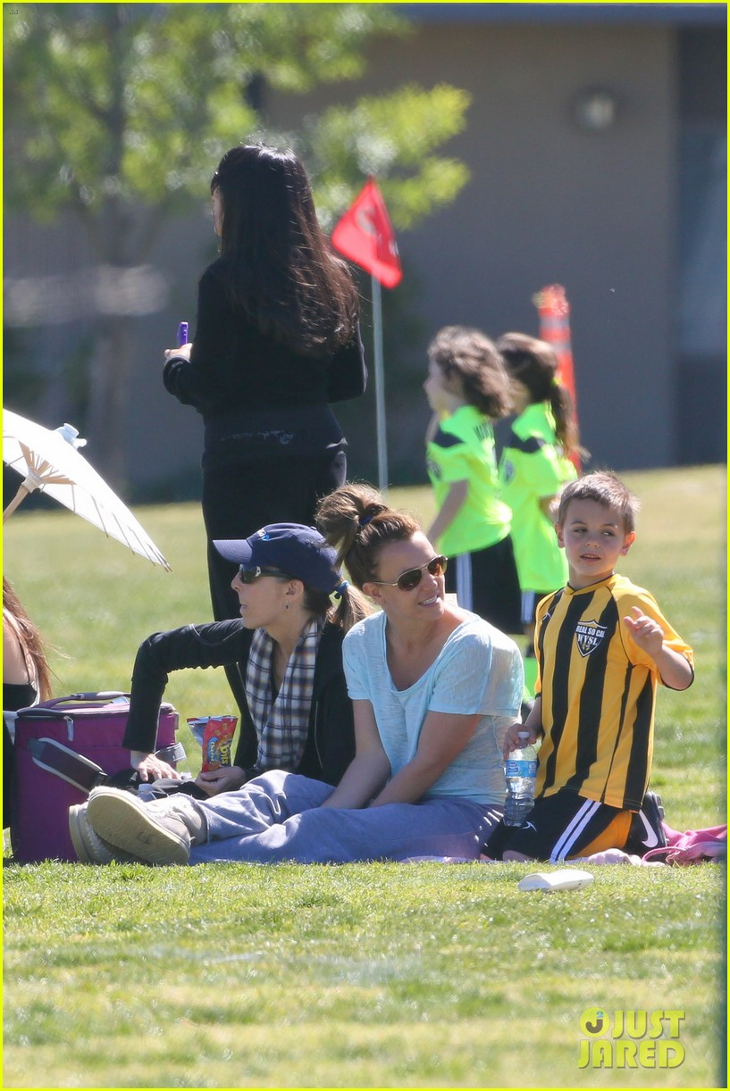 britney spears sunday soccer mom 322828499