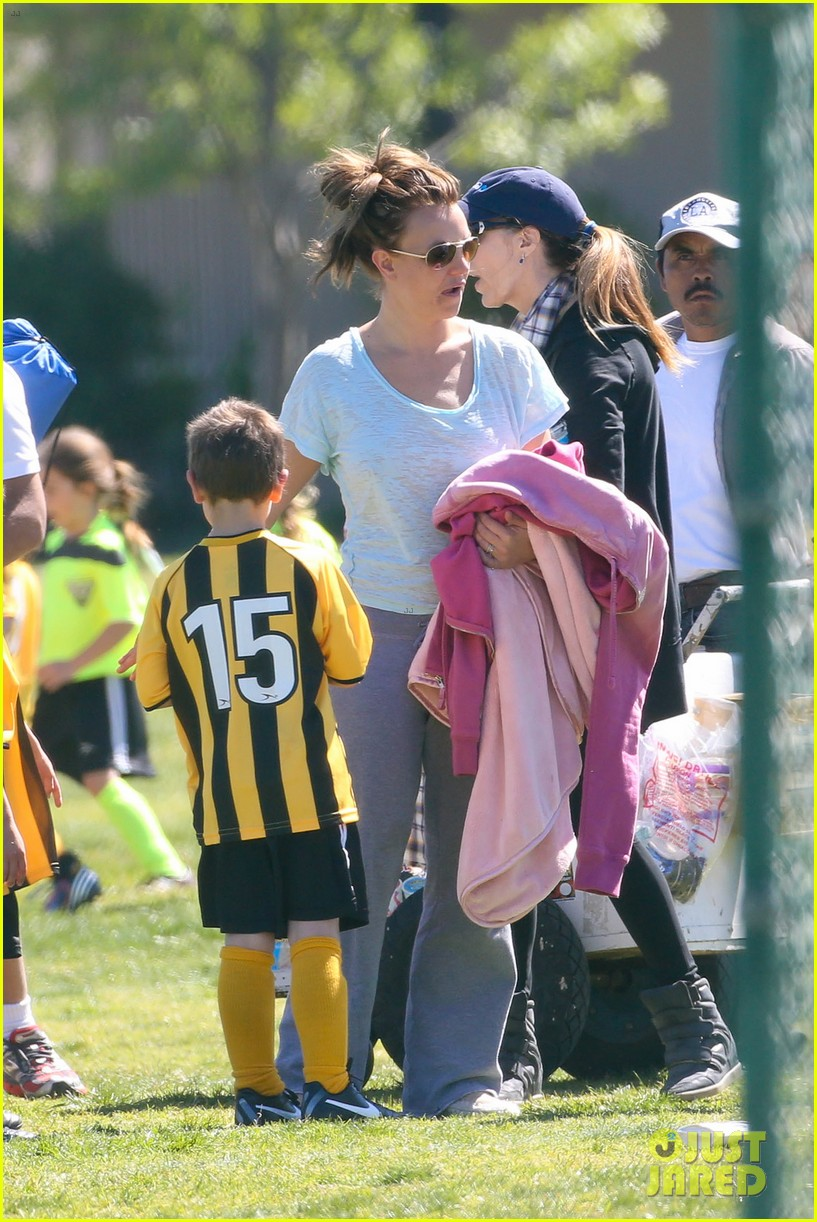 britney spears sunday soccer mom 36