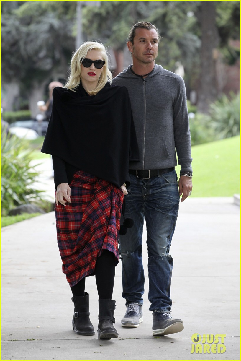 gwen stefani gavin rossdale park day with the boys 19