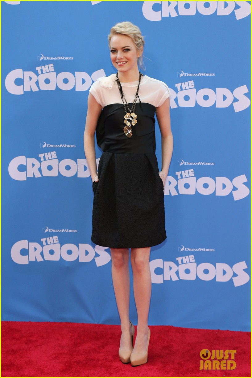 emma stone the croods premeire 07