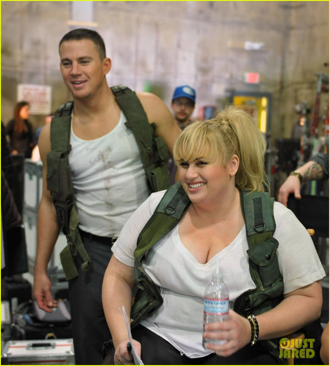 channing tatum rebel wilson mtv movie awards promo outakes video 012834604