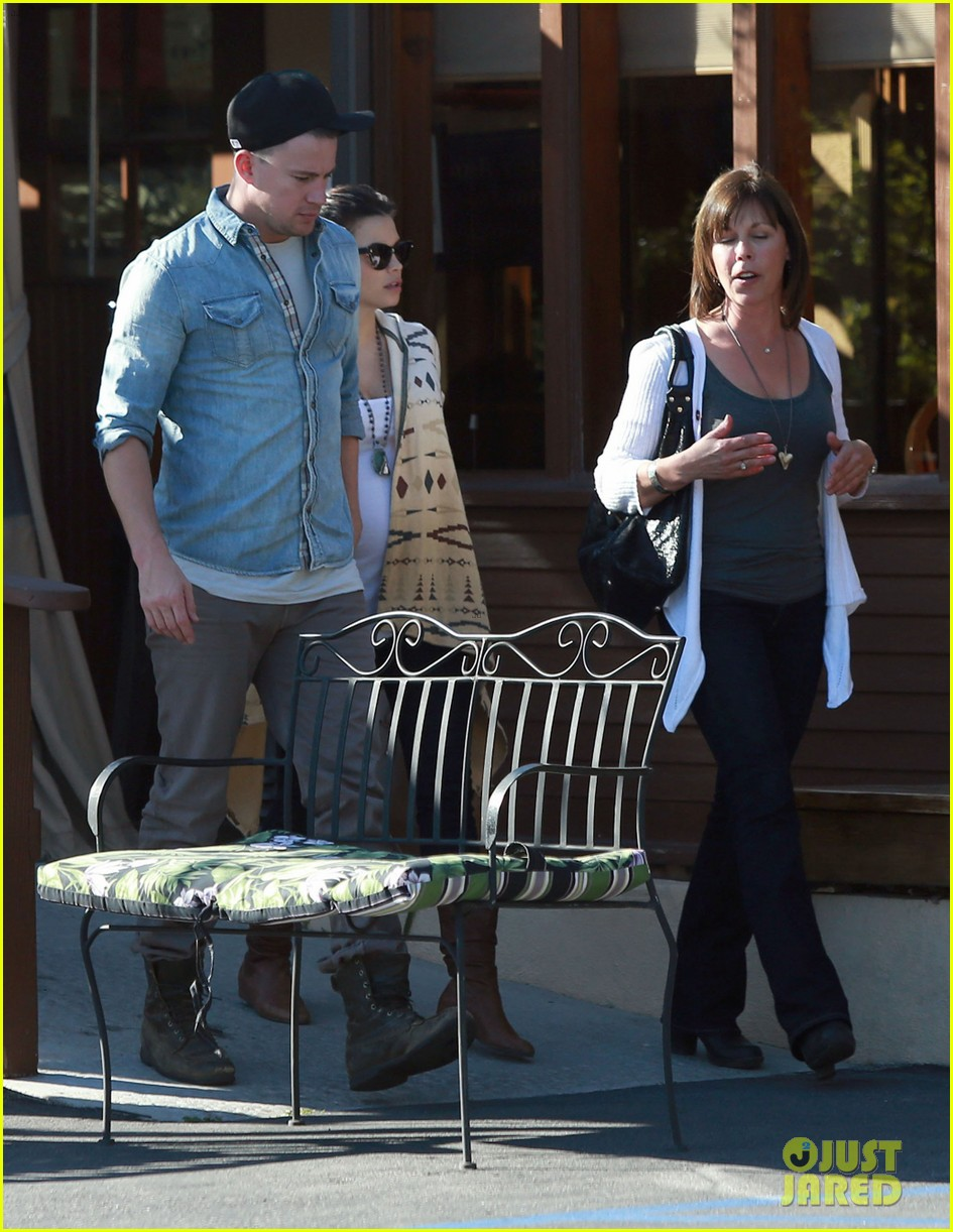 channing tatum jenna dewan lunch coffee date 182822766