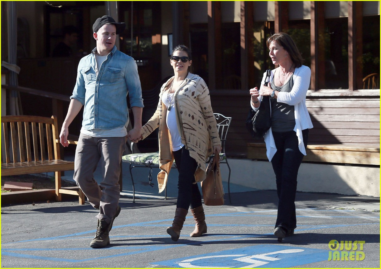 channing tatum jenna dewan lunch coffee date 20