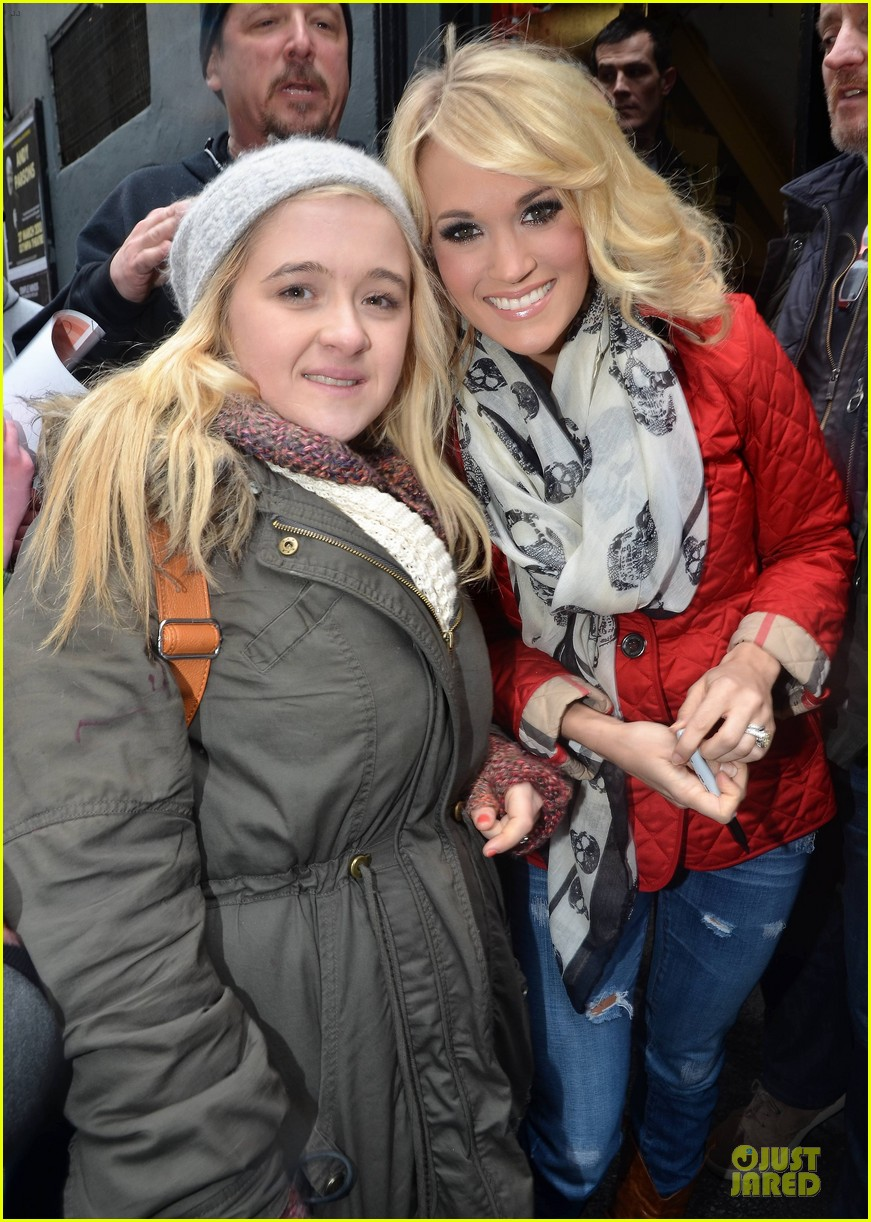 carrie underwood dublin sang every word with me 032830621