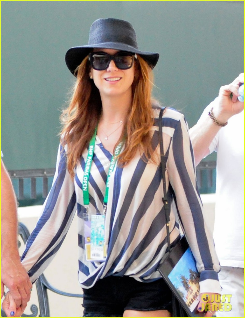 kate walsh bnp paribas open tennis match with chris case 012832919