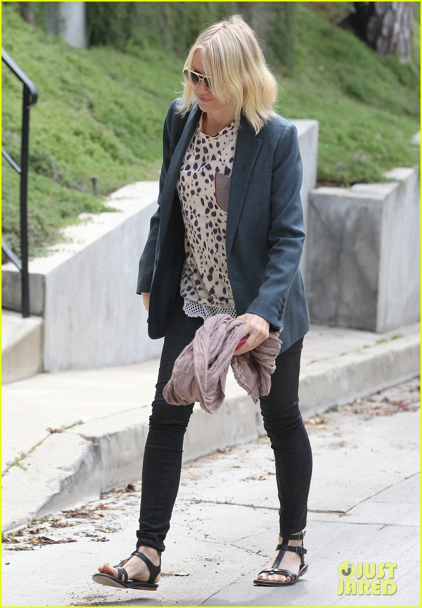 naomi watts liev schreiber separate sunny outings 08