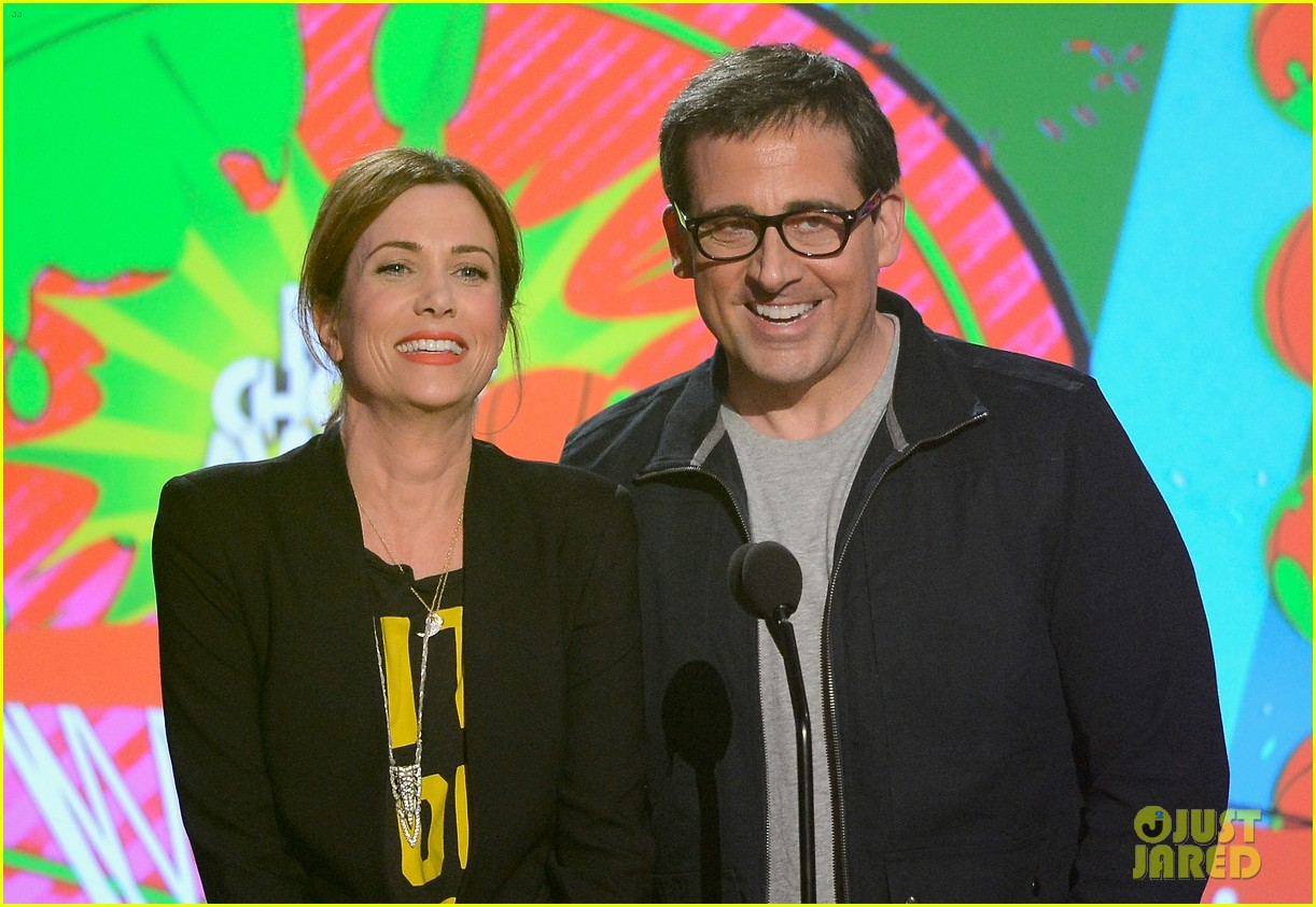 kristen wiig steve carell kids choice awards 2013 03