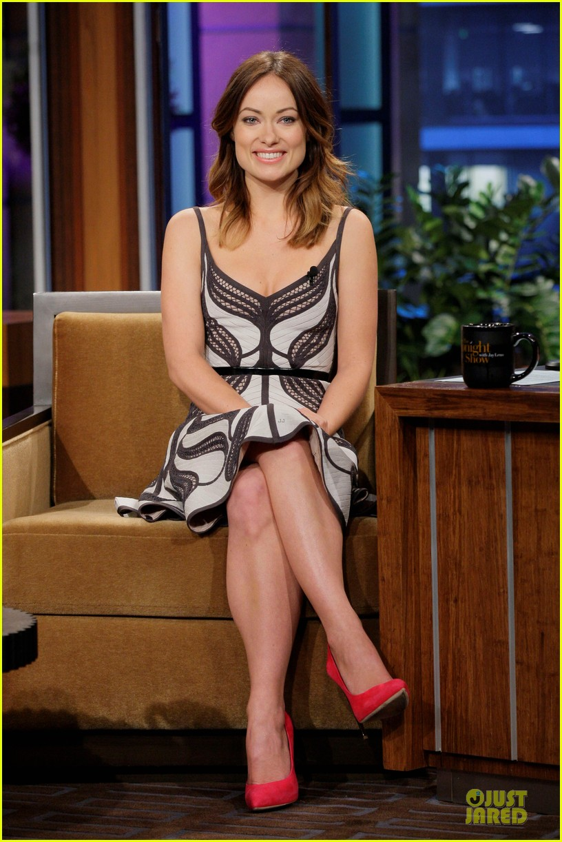 olivia wilde incredible burt wonderstone promo on leno 02