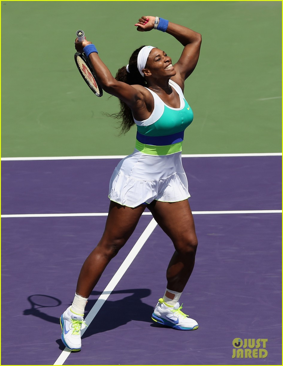 serena williams sony open victory portraits 03