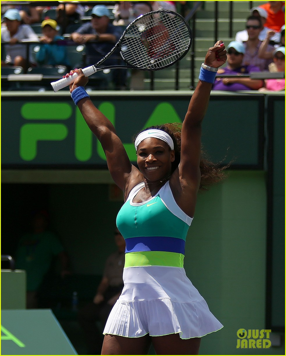 serena williams sony open victory portraits 18