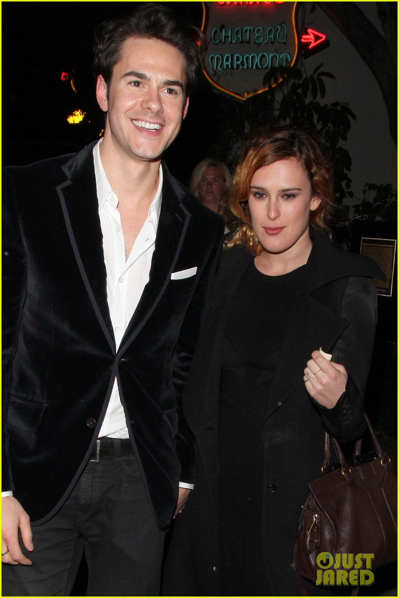 rumer willis jayson blair chateau marmont couple 02