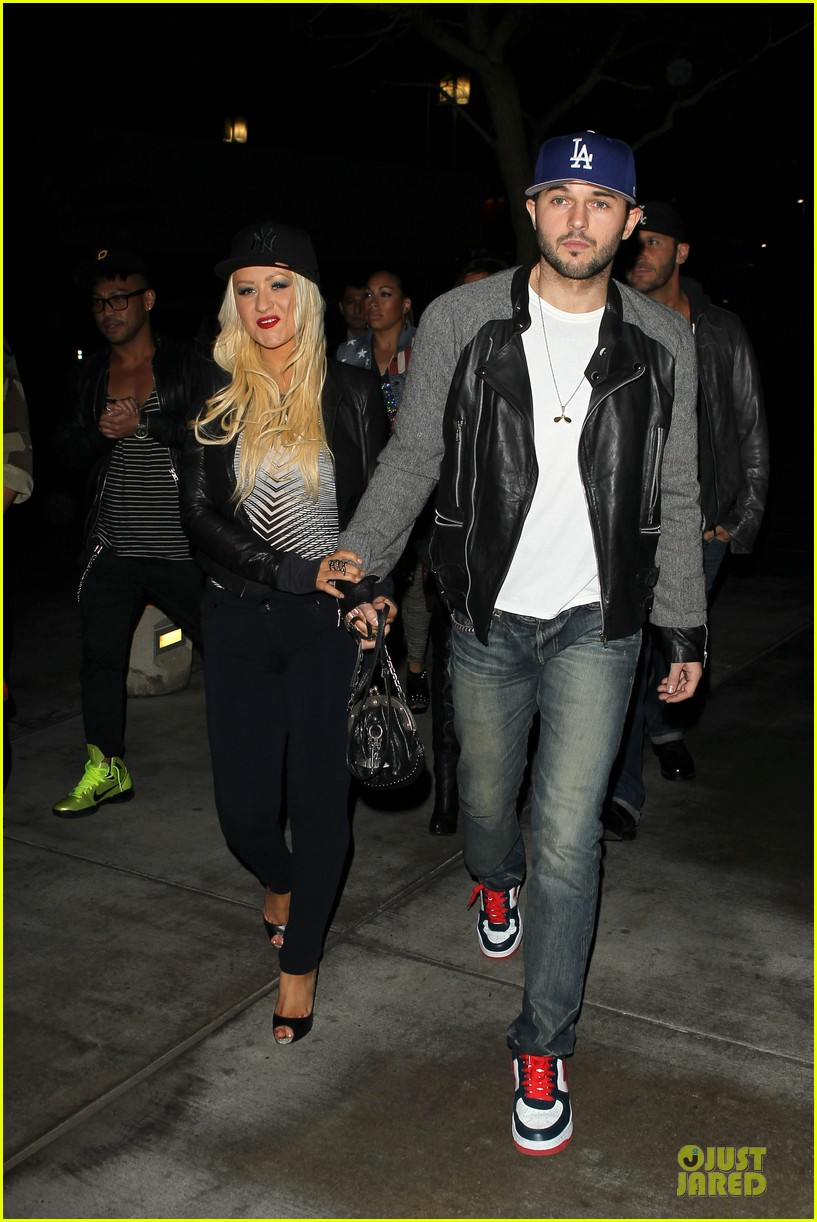 christina aguilera matthew rutler rihanna diamond world tour date 12