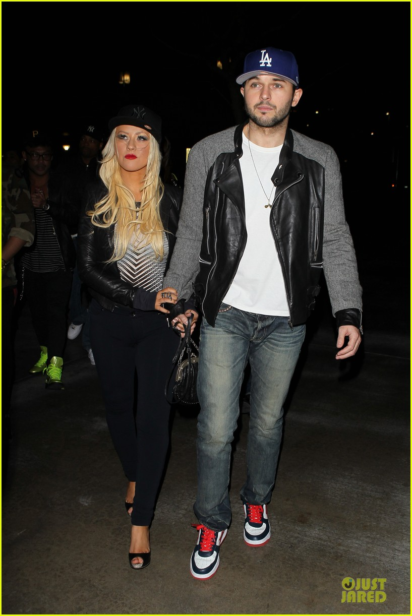 christina aguilera matthew rutler rihanna diamond world tour date 14