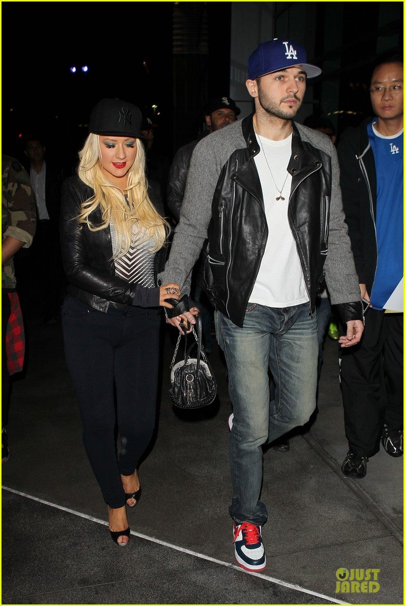 christina aguilera matthew rutler rihanna diamond world tour date 16