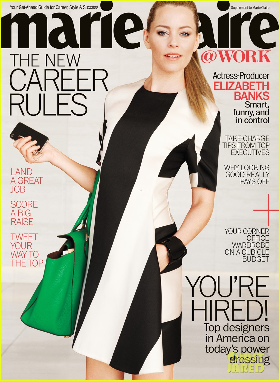 elizabeth banks covers marie claire work may 2013 012847838