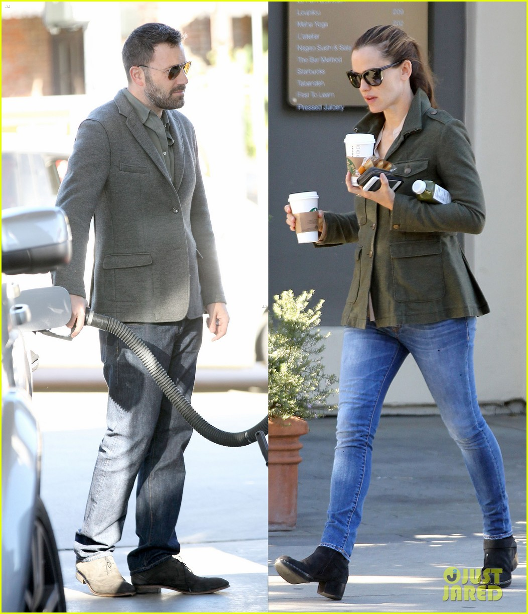 jennifer garner ben affleck hollywood dinner date 13