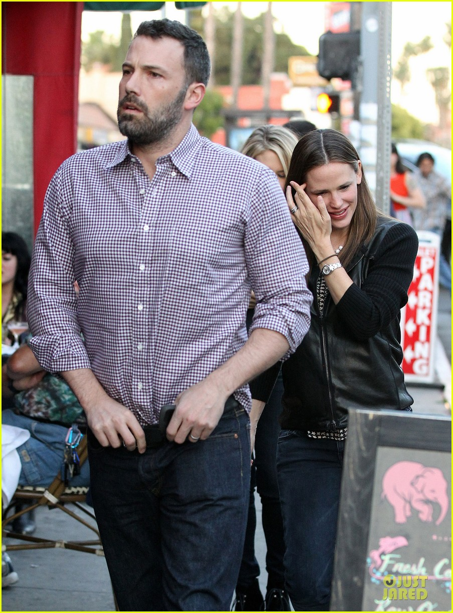 jennifer garner ben affleck hollywood dinner date 312854098