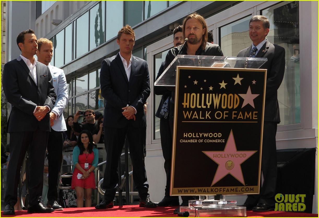 backstreet boys hollywood walk of fame ceremony 06