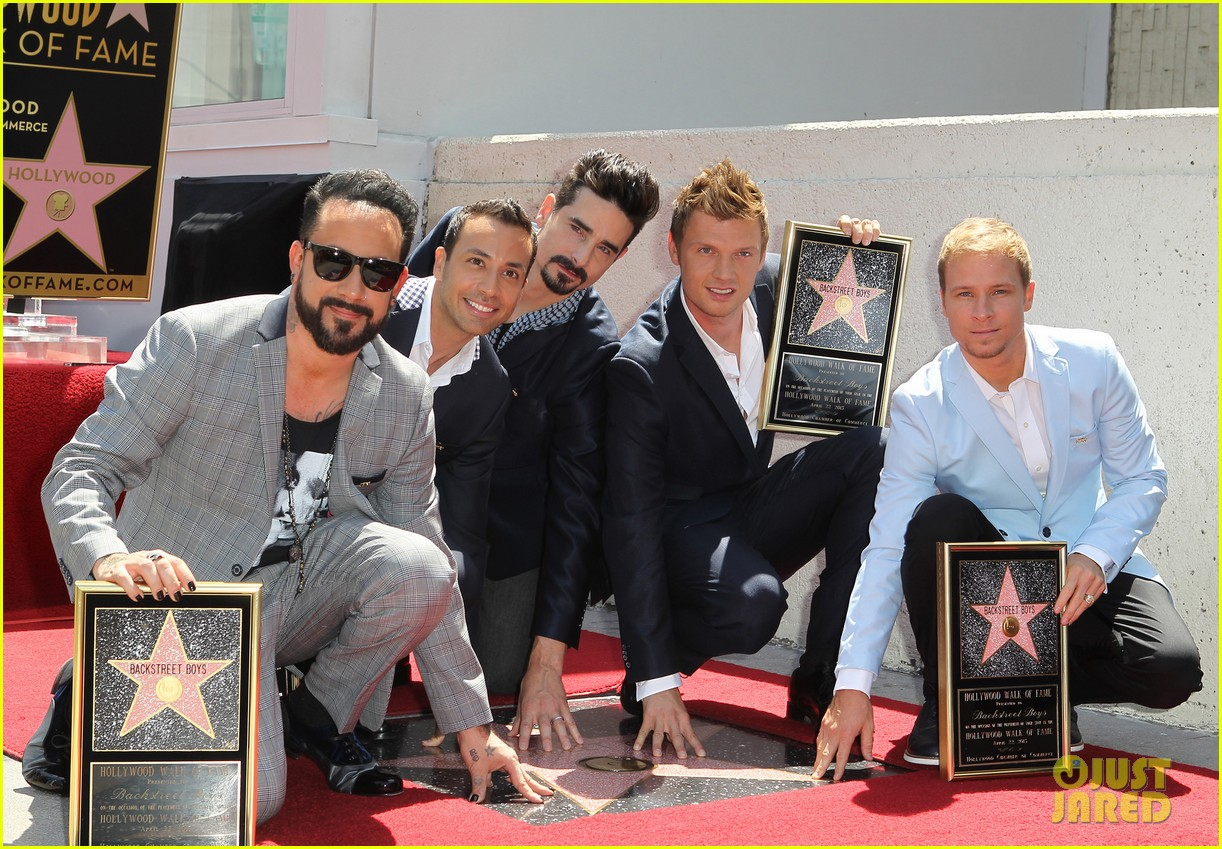 backstreet boys hollywood walk of fame ceremony 16