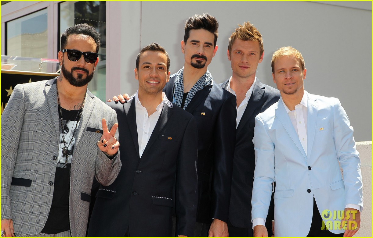 backstreet boys hollywood walk of fame ceremony 192855904