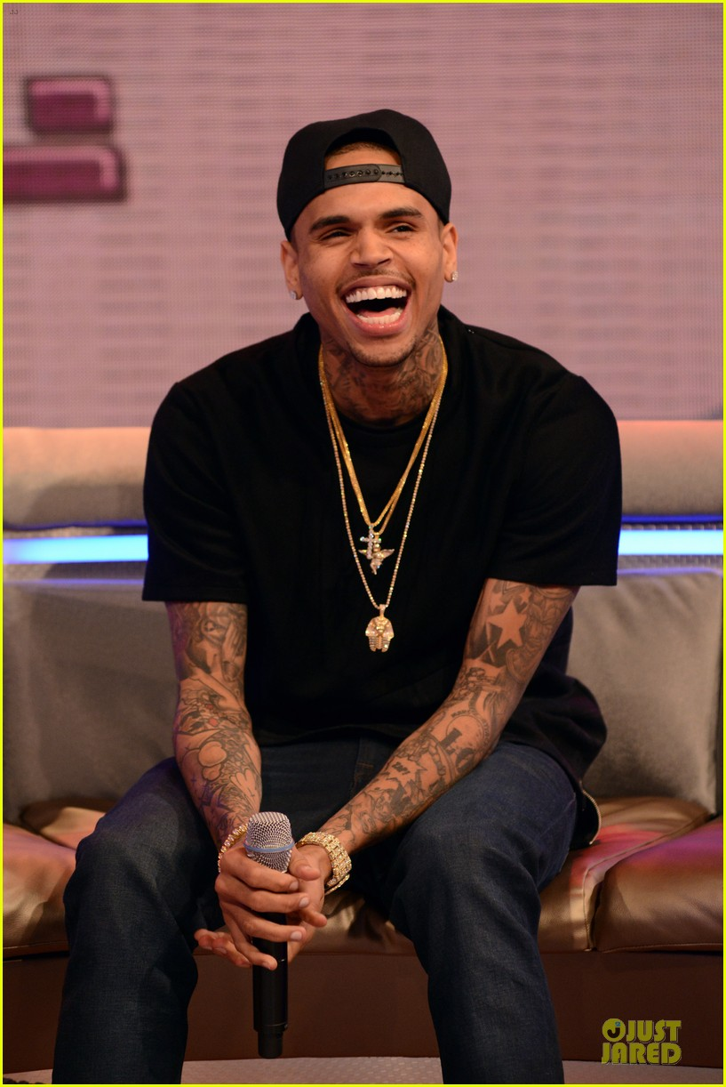 chris brown fine china promotion on 106 park 20