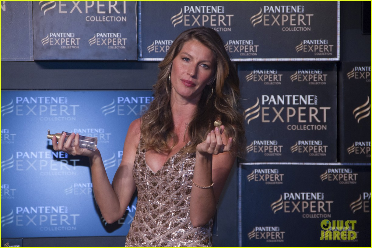 gisele bundchen pantene expert photo call 09