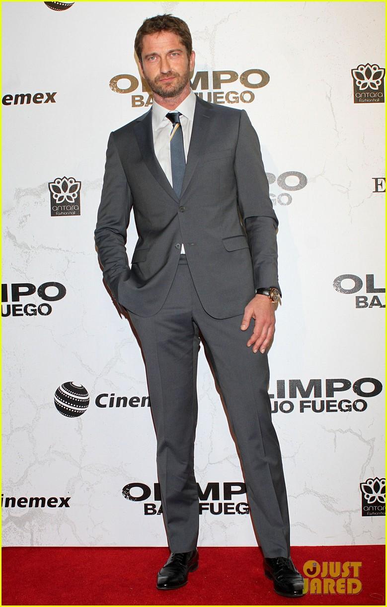 gerard butler olympus has fallen mexico city premiere 02