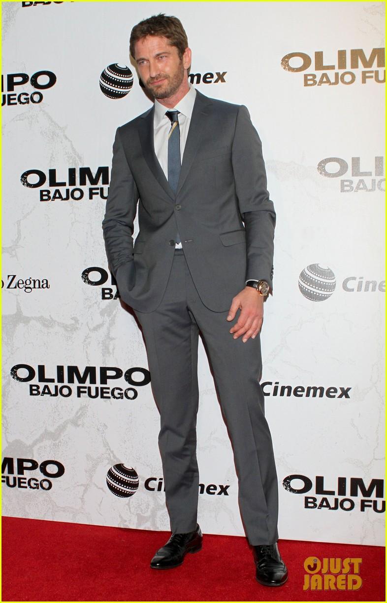 gerard butler olympus has fallen mexico city premiere 042849952